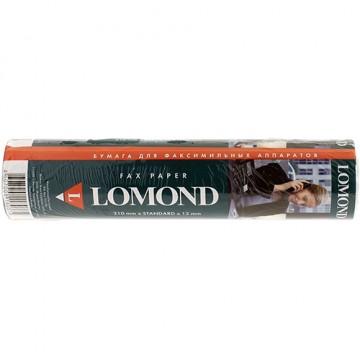 Термобумага для факсов (Lomond) 210мм х 28м х 12мм (0104034)