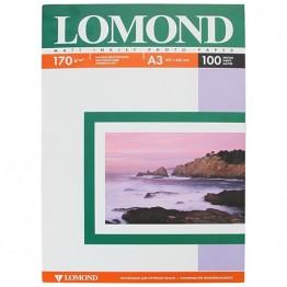 Фотобумага матовая Lomond A3 170г/м2 2-ст, 100л. (0102012)