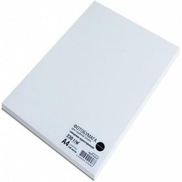 Фотобумага глянцевая односторонняя (NetProduct), A4, 230 г/м, 100 л.