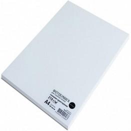 Фотобумага глянцевая односторонняя (NetProduct), A4, 210 г/м, 100 л.