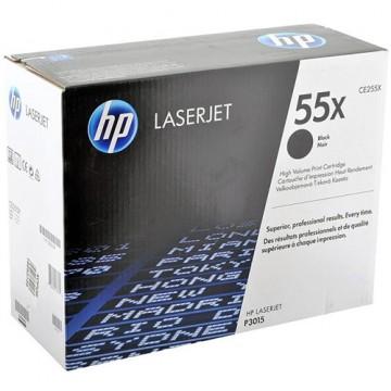 Картридж лазерный HP 55X, CE255X