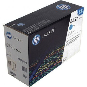 Картридж лазерный HP 642A, CB401A