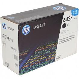 Картридж лазерный HP 642A, CB400A