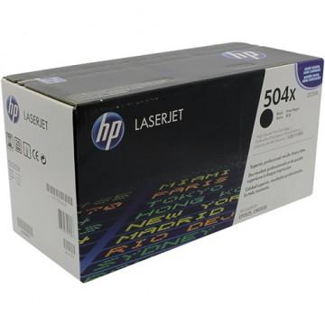 Картридж лазерный HP 504X, CE250X