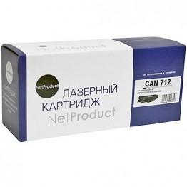 Картридж лазерный Canon 712, 1870B002 (NetProduct)