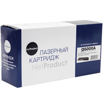 Картридж лазерный HP 124A, Q6000A (NetProduct)