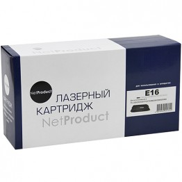 Картридж лазерный Canon E-16, 1492A003 (NetProduct)