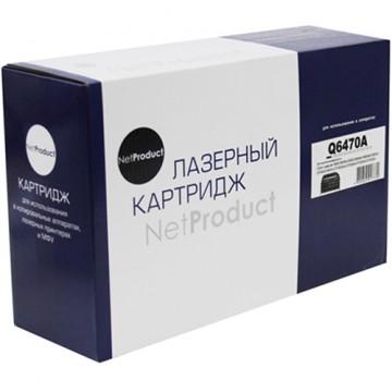 Картридж лазерный HP 501A, Q6470A (NetProduct)