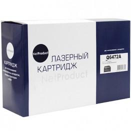 Картридж лазерный HP 501A, Q6472A (NetProduct)