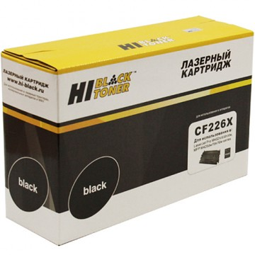 Картридж лазерный HP 26X, CF226X (Hi-Black)