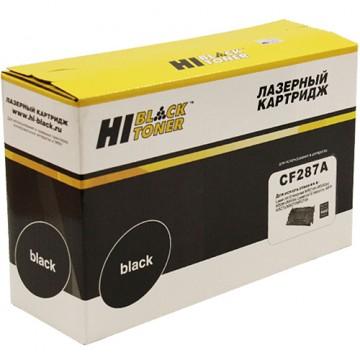 Картридж лазерный HP 87A, CF287A (Hi-Black)