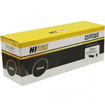 Картридж лазерный HP 650A, CE270A (Hi-Black)