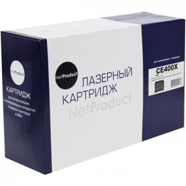 Картридж лазерный HP 507X, CE400X (NetProduct)