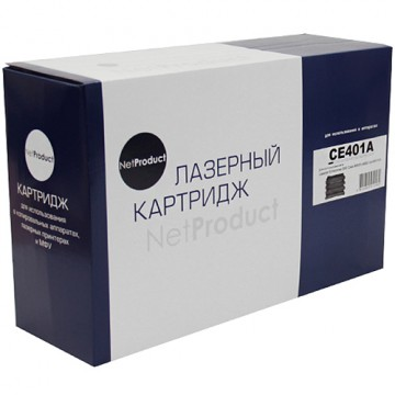 Картридж лазерный HP 507A, CE401A (NetProduct)