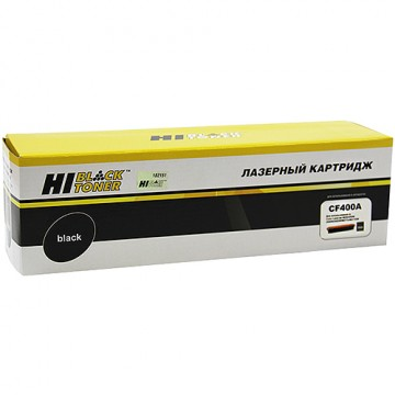 Картридж лазерный HP 201A, CF400A (Hi-Black)