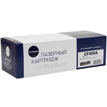 Картридж лазерный HP 201A, CF400A (NetProduct)