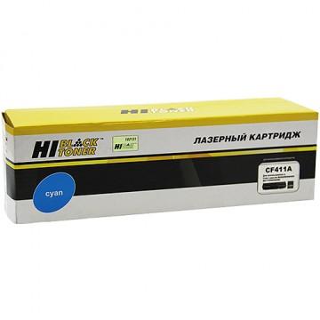 Картридж лазерный HP 410A, CF411A (Hi-Black)