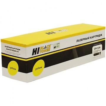 Картридж лазерный HP 410A, CF412A (Hi-Black)