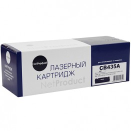 Картридж лазерный HP 35A, CB435A (NetProduct)