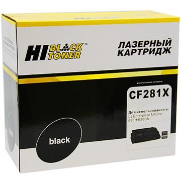 Картридж лазерный HP 81X, CF281X (Hi-Black)