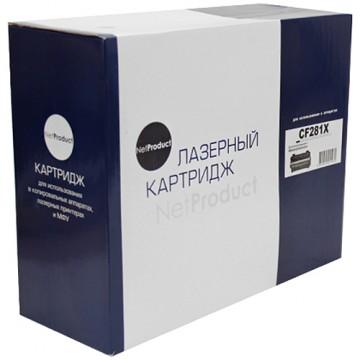 Картридж лазерный HP 81X, CF281X (NetProduct)
