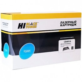 Картридж лазерный HP 642A, CB401A (Hi-Black)