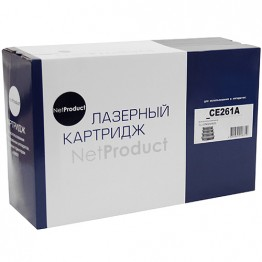 Картридж лазерный HP 648A, CE261A (NetProduct)
