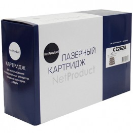 Картридж лазерный HP 648A, CE262A (NetProduct)