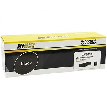 Картридж лазерный HP 312X, CF380X (Hi-Black)