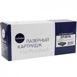 Картридж лазерный HP 312A, CF381A (NetProduct)