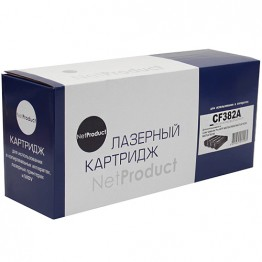Картридж лазерный HP 312A, CF382A (NetProduct)