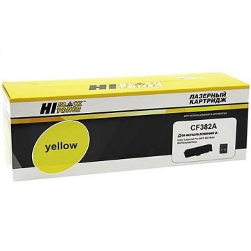 Картридж лазерный HP 312A, CF382A (Hi-Black)