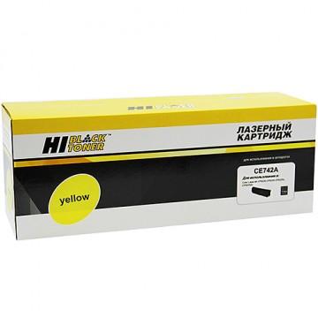 Картридж лазерный HP 307A, CE742A (Hi-Black)