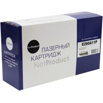 Картридж лазерный Lexmark E260A11P (NetProduct)