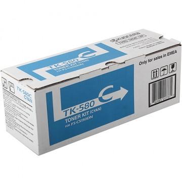 Картридж лазерный Kyocera TK-580C