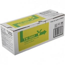 Картридж лазерный Kyocera TK-580Y