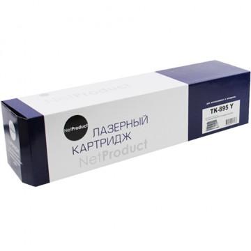 Картридж лазерный Kyocera TK-895Y (NetProduct)