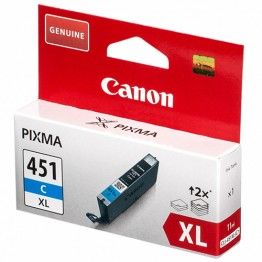 Картридж струйный Canon CLI-451XLC, 6473B001