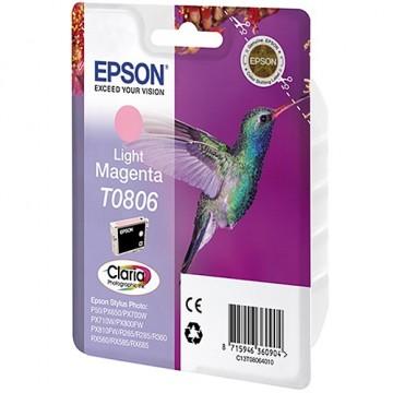 Картридж струйный Epson T0806, C13T08064010
