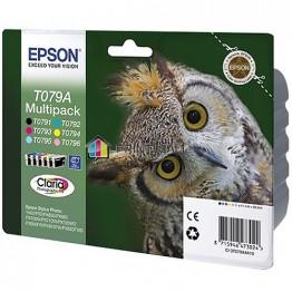 Комплект струйных картриджей Epson T079A, C13T079A4A10