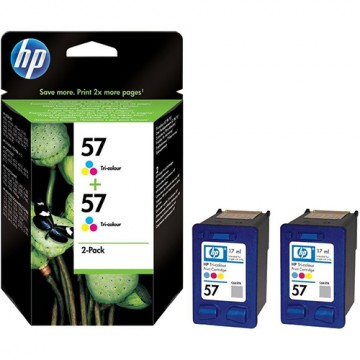 Комплект струйных картриджей HP 57, C9503AE