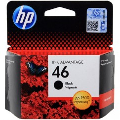 Картридж струйный HP 46, CZ637AE