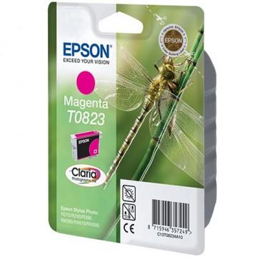 Картридж струйный Epson T0823, C13T11234A10