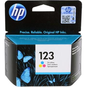 Картридж струйный HP 123, F6V16AE