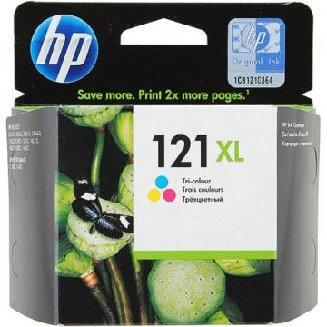 Картридж струйный HP 121XL, CC644HE