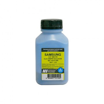 Тонер Samsung CLP-300/310/CLX-3160FN/Xerox 6110 (Hi-Black), C, 45 г, банка