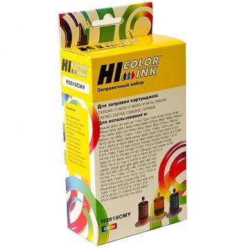 Заправочный набор HP C6578A/C1823D/C6625AE/C6657A/C8728A/C9352AE (Hi-Black), 3x20мл, Трехцветный