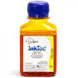 Чернила Epson R270, E0010 (InkTec) T0824, Y, 0,1л (оригинальная фасовка)