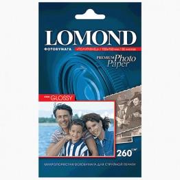 Фотобумага Semi-Glossy односторонняя (Lomond) 10х15, 260г/м, 20л. (1103302)