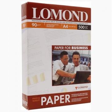 Фотобумага глянцевая односторонняя (Lomond) 10х15, 230г/м, 500л. (0102082)